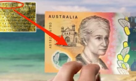 The embarrassing spelling mistake on Australia's new $50 note